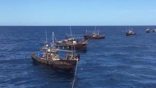 Русия задържа шхуни и моторни лодки на Северна Корея с 262 бракониери
