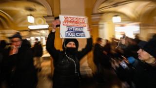Русия: TikTok изтри 38% публикации за незаконни протести за Навални