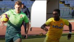 Експериментален Левски удържа 0:0 на руския УФА