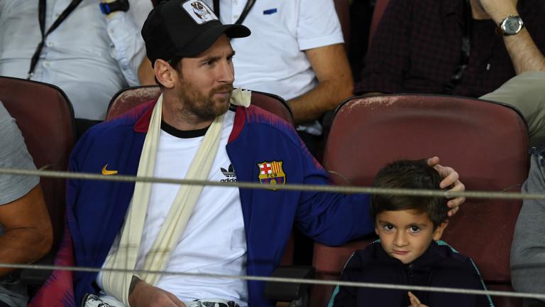 Лионел Меси изрази задоволство от нивото на шампионата в Испания,