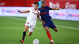 Севиля удари Атлетико (Мадрид), битката за титлата в Ла Лига става жестока