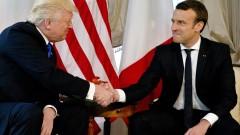 Макрон и Тръмп обсъдиха световните проблеми