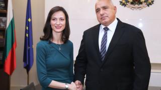 Премиерът обсъди с Мария Габриел новия й ресор в ЕК