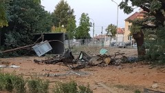 Тир отнесе кола в Айтос, баща и двете му деца загинаха на място