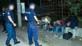 Полицаите хванаха 71 мигранти в София само тази нощ