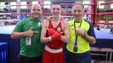 Красимир Джуров със сребро на Европейското по бокс
