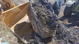 Над 120 тона достигна откритото количество незаконно загробен боклук край Червен бряг