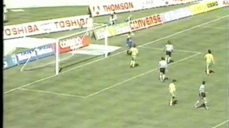 На 10 май 1992 година на стария стадион