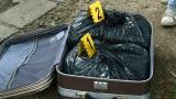 Амфетаминът в куфарите, заловен вчера на софийска улица, е за 3.5 млн. лв.