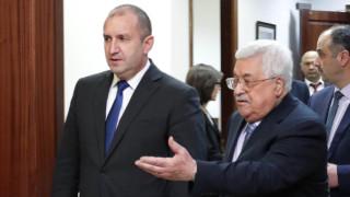 Радев предал на Абас предложенията на Нетаняху за мир