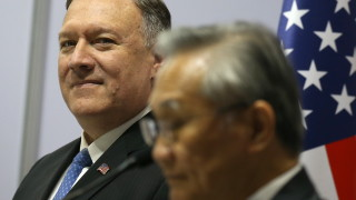 Помпео приветства Камбоджа за отказ на ВМС база на Китай