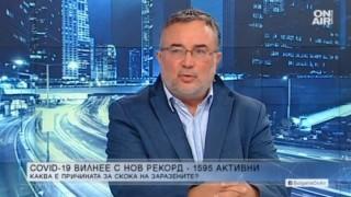 Д-р Чавдар Ботев: Проблемът с Ковид-19 може да се реши за 15 дни
