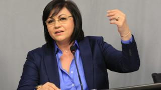 Нинова се гневи, че Борисов се хвали с пътища