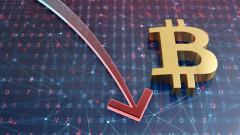 Bitcoin се срина и повлече криптовалутите към ново дъно