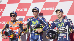 Валентино Роси тръгва първи в Япония
