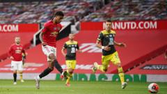 Манчестър Юнайтед допусна късен изравнителен гол срещу Саутхямптън