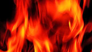 Камион със зърно е запали по пътя Варна-Балчик