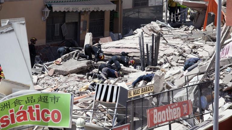 Един загинал, трима ранени и 9 изчезнали след рухване на сграда в Испания