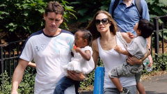Ето го мъжа до Анджелина Джоли (ВИДЕО)