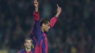 Ривалдо отново в игра за Барселона