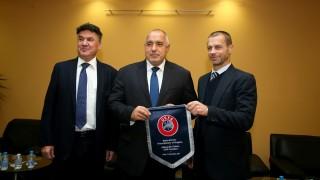 Александър Чеферин остава президент на УЕФА