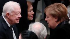 Джими Картър препоръчва дипломация и взаимно уважение с Иран