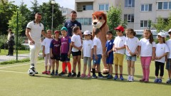 """""""Мисия спорт на любимите герои"""" донесе радостни емоции на над 200 малки приятели в столицата"""