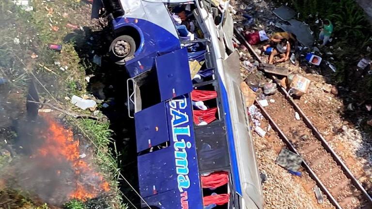 Десетки загинали и ранени при катастрофа в Бразилия