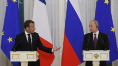 Путин и Макрон обсъдиха Сирия и атаката срещу МН17