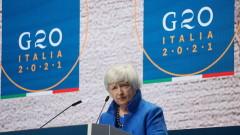 Йелън: САЩ могат да въведат глобалния данък през пролетта на 2022 г.