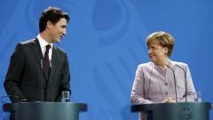 CETA е модел за бъдещи търговски споразумения, съгласни Меркел и Трюдо