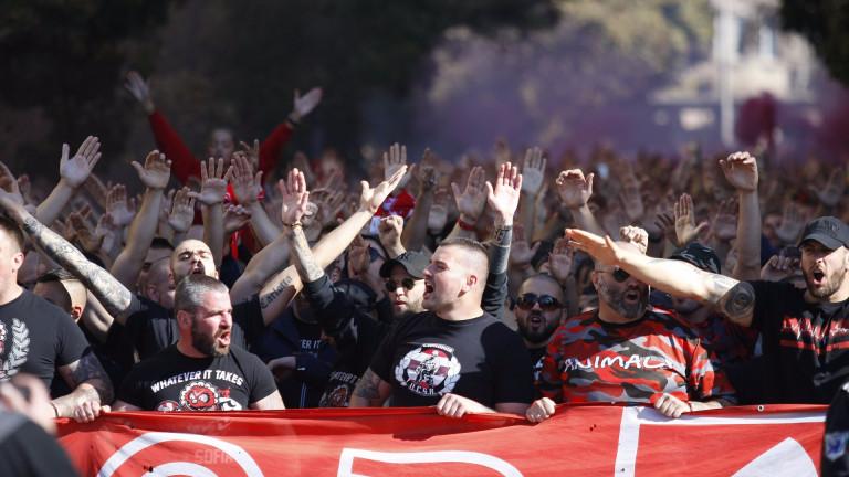 Дисциплинарната комисия към Българския футболен съюз санкционира ЦСКА с глоби