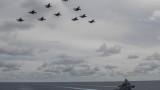 Китай: Увеличението с 40% на ВВС на САЩ около Китай е опасно и за двете страни
