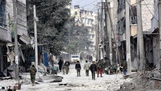 11 загинали след рухване на сграда в Алепо