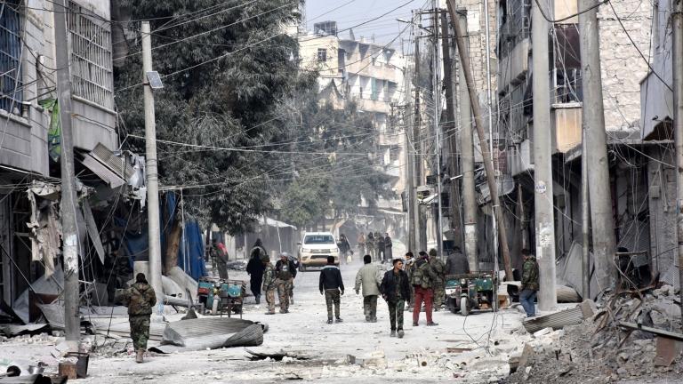 Експлозия разтърси Алепо