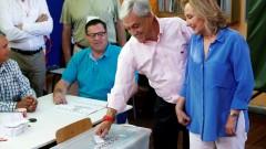 Пинера печели президентските избори в Чили