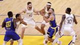 Голдън Стейт Уориърс направи важна крачка към плейофите в НБА
