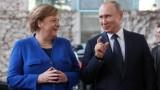 """Ангела Меркел звъни на Путин заради """"Северен поток 2"""""""