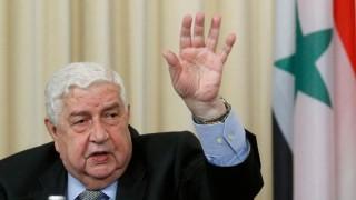 Почина външният министър на Сирия Уалид ал Муалем