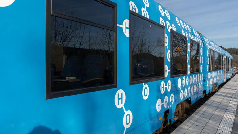 Определено водородните влакове са най-зеленият железопътен транспорт.