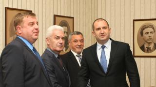 Радев обещал на патриотите подкрепа във всяко добро за България начинание