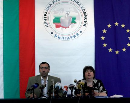 ЦИКЕП обяви окончателните резултати от евровота
