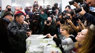 34,51 процента избирателна активност в Каталуния към 14 часа