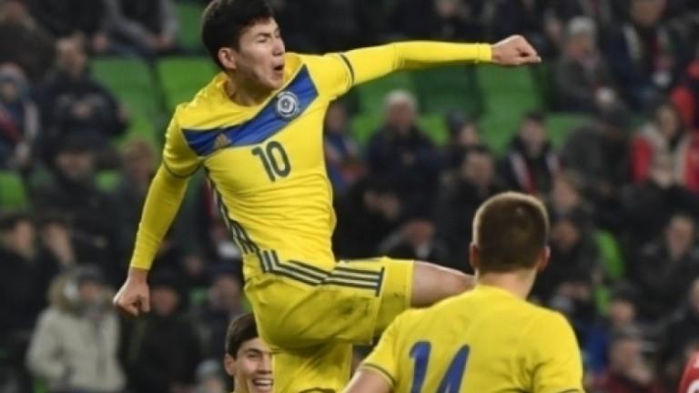 Казахстан на Мъри Стоилов срази Азербайджан