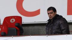 Петър Хубчев подал молба за разтрогване на договора си, гледа към Левски
