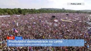 Огромен митинг в Прага срещу премиера Бабич