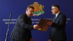 Приемственост и стабилност обеща служебният военен министър