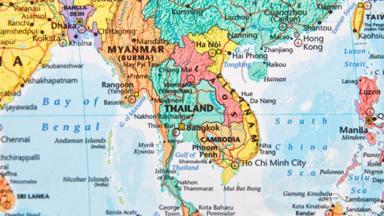 Първи съвместни военни учения на САЩ и Великобритания в Южнокитайско море