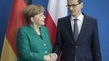 Меркел удари Полша и Украйна за Северен поток 2, не бил опасен за енергийната сигурност