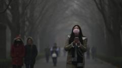 Над Китай е надвиснал смог, по-голям от Испания